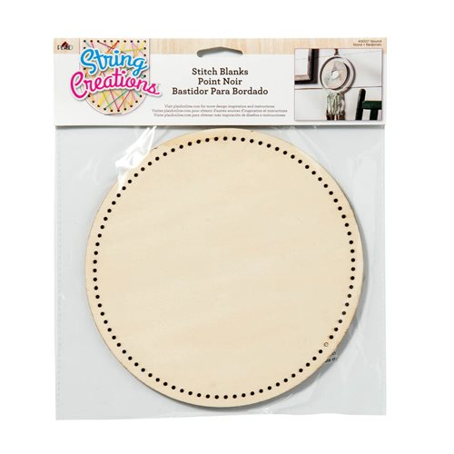 Bucilla ® String Creations™ Stitch Blanks - Round, Border Grid