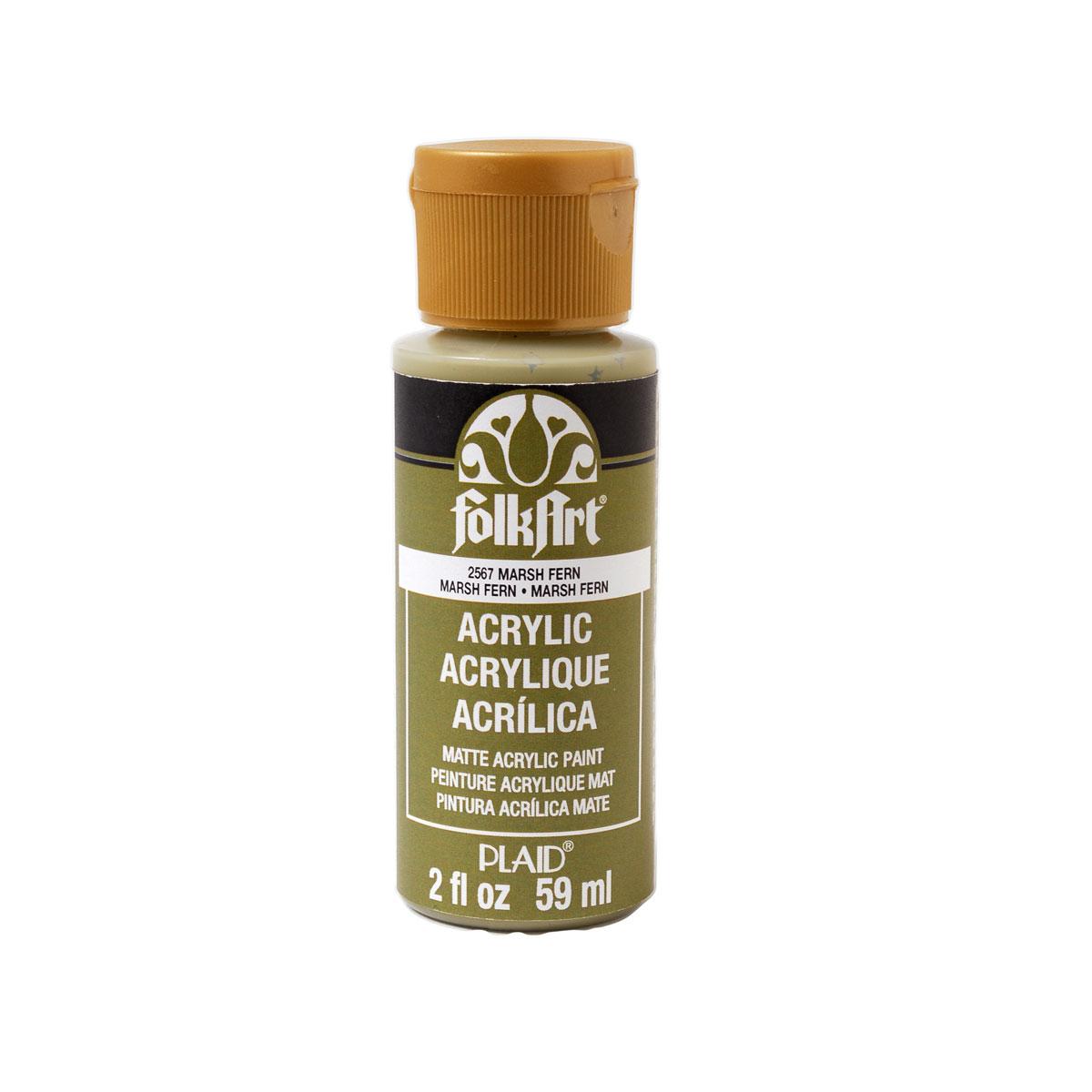FolkArt ® Acrylic Colors - Marsh Fern, 2 oz.
