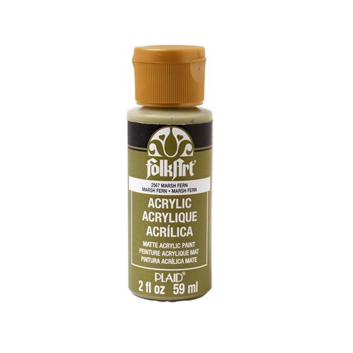 FolkArt ® Acrylic Colors - Marsh Fern, 2 oz.