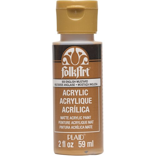 FolkArt ® Acrylic Colors - English Mustard, 2 oz. - 959
