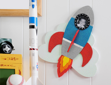 Sparkle Rocket Photo Frame