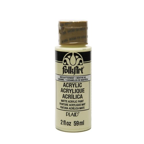 FolkArt ® Acrylic Colors - Buttermint, 2 oz.