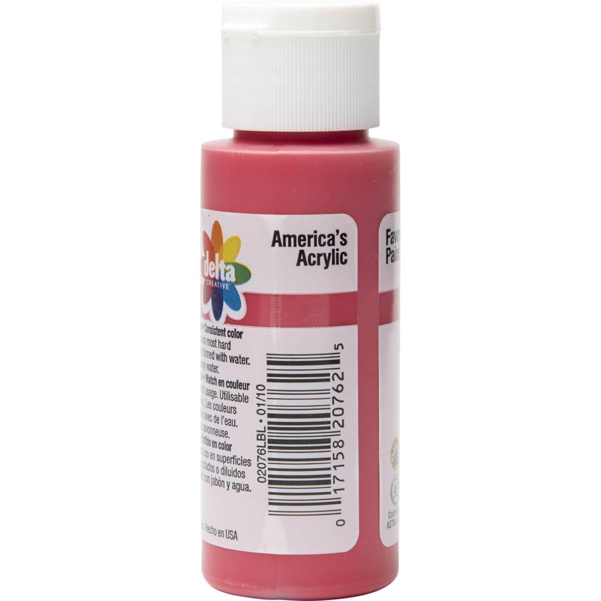 Delta Ceramcoat ® Acrylic Paint - Crimson, 2 oz.
