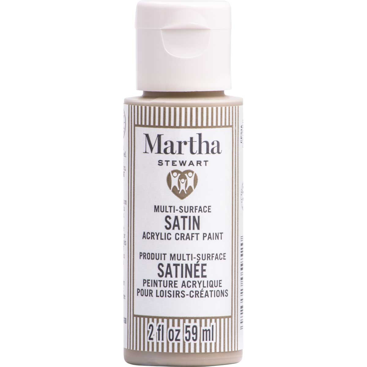 Martha Stewart ® Multi-Surface Satin Acrylic Craft Paint CPSIA - Oat, 2 oz. - 5952