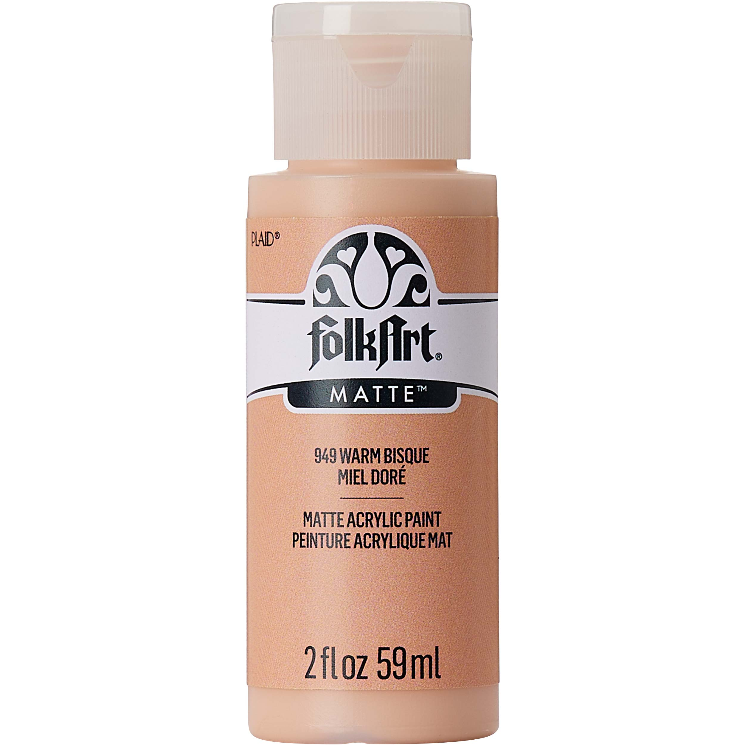 FolkArt ® Acrylic Colors - Warm Bisque, 2 oz. - 949