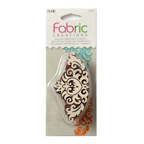 Fabric Creations™ Block Printing Stamps - Border - Baroque