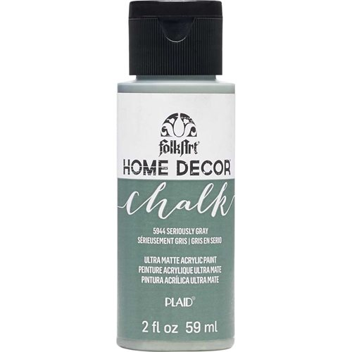 FolkArt ® Home Decor™ Chalk - Seriously Gray, 2 oz.