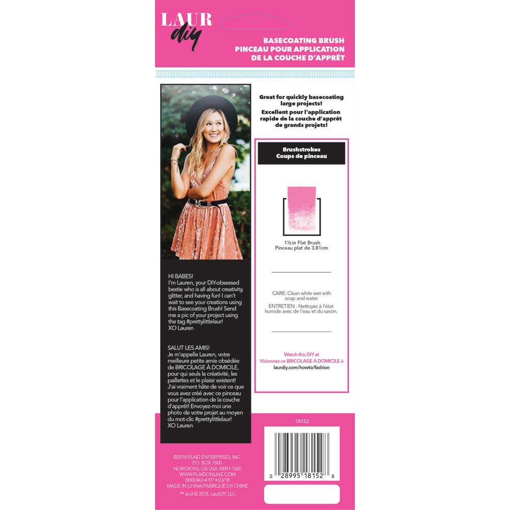 LaurDIY ® Brush - Basecoating Brush