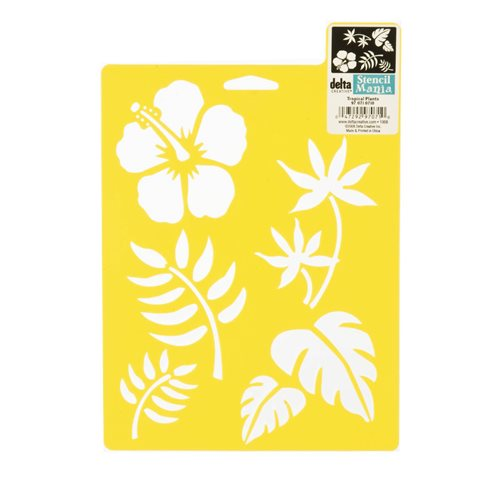 Delta Stencil Mania™ - Tropical Plants - 970710710