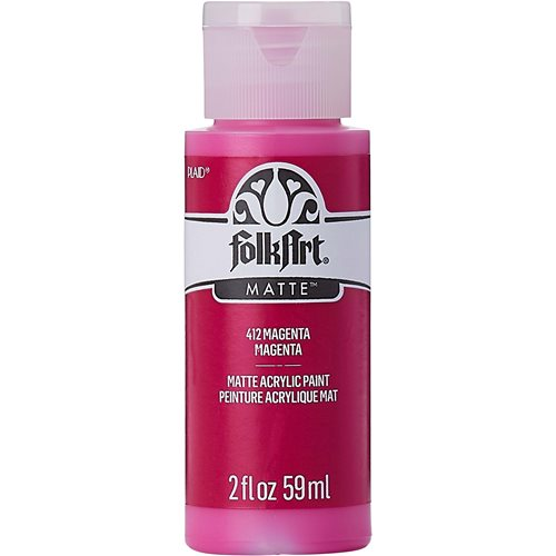 FolkArt ® Acrylic Colors - Magenta, 2 oz.