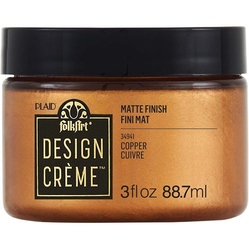 FolkArt ® Design Creme™ - Copper, 3 oz. - 34941