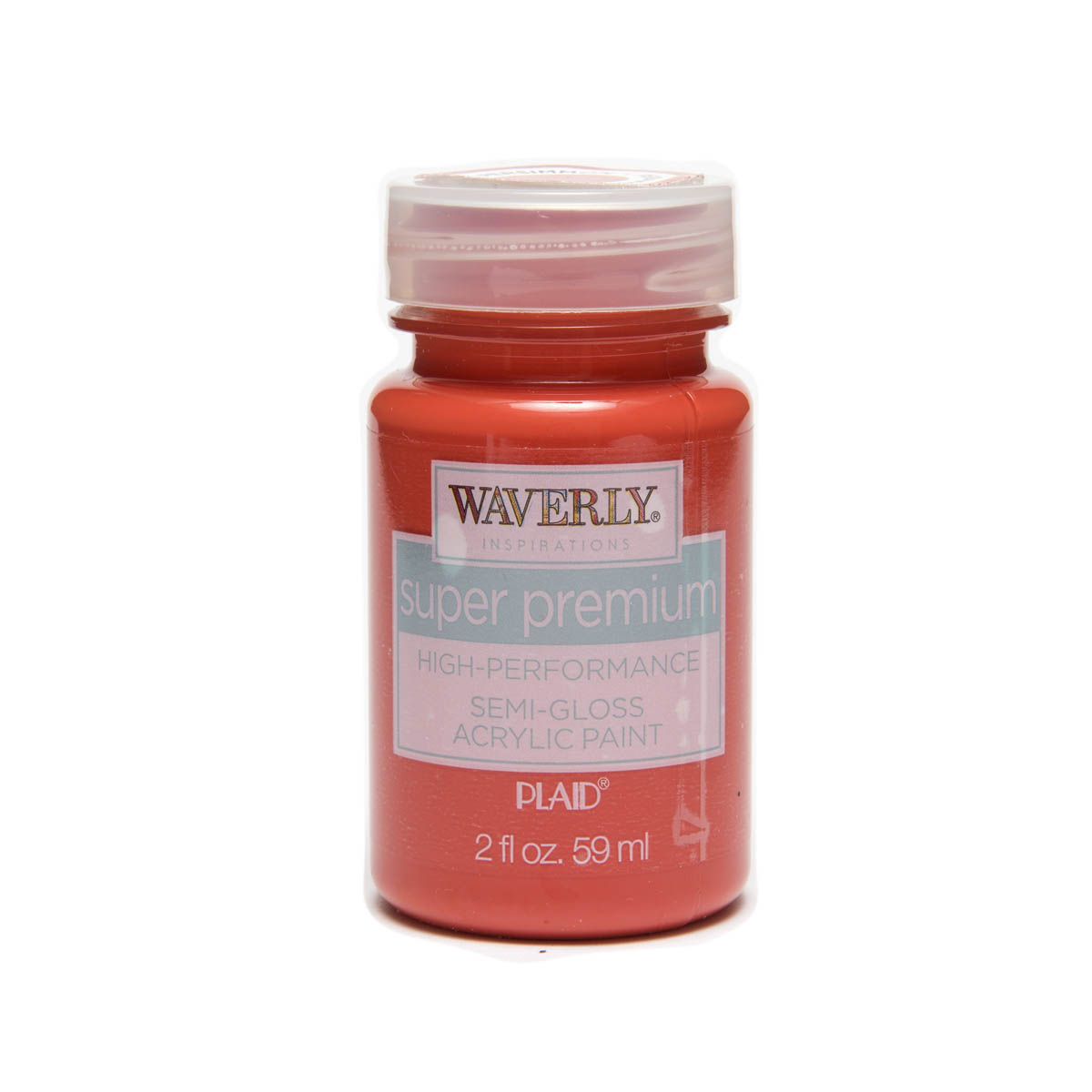 Waverly ® Inspirations Super Premium Semi-Gloss Acrylic Paint - Persimmon, 2 oz.