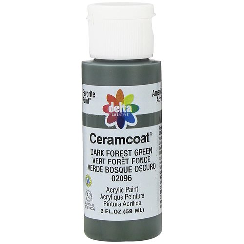 Delta Ceramcoat ® Acrylic Paint - Dark Forest Green, 2 oz. - 020960202W