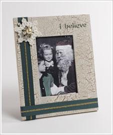 Santa and Me Frame