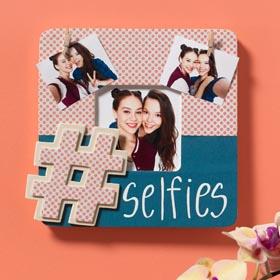 Hashtag Selfie Photo Frame