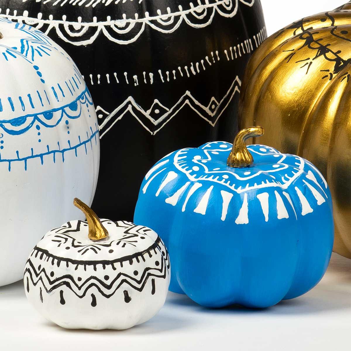 Scribbled Pumpkins