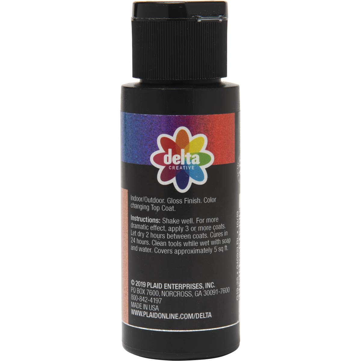 Delta Ceramcoat ® Cosmo Glaze™ - Red-Violet-Blue, 2 oz. - 04092