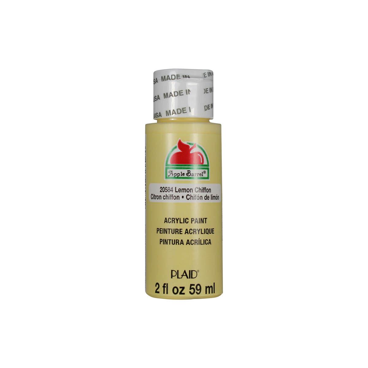 Apple Barrel ® Colors - Lemon Chiffon, 2 oz.