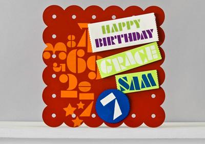 Handmade Charlotte Perpetual Magnetic Birthday Sign