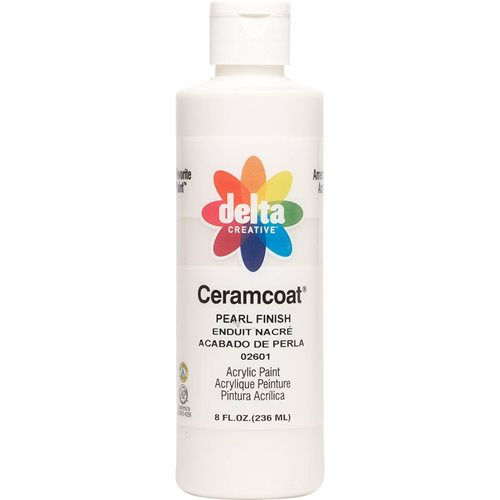 Delta Ceramcoat ® Acrylic Paint - Pearl Finish, 8 oz. - 026010802W