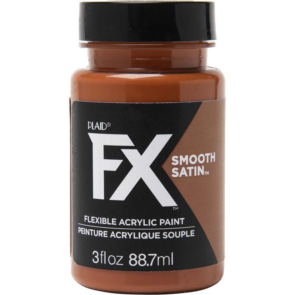 PlaidFX Smooth Satin Flexible Acrylic Paint - Mudflow, 3 oz. - 36869