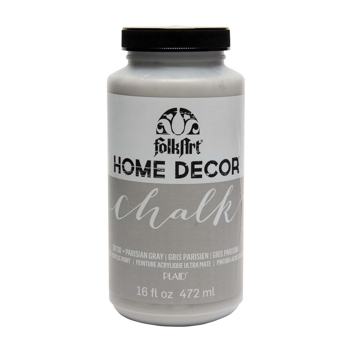 FolkArt ® Home Decor™ Chalk - Parisian Grey, 16 oz. - 38730