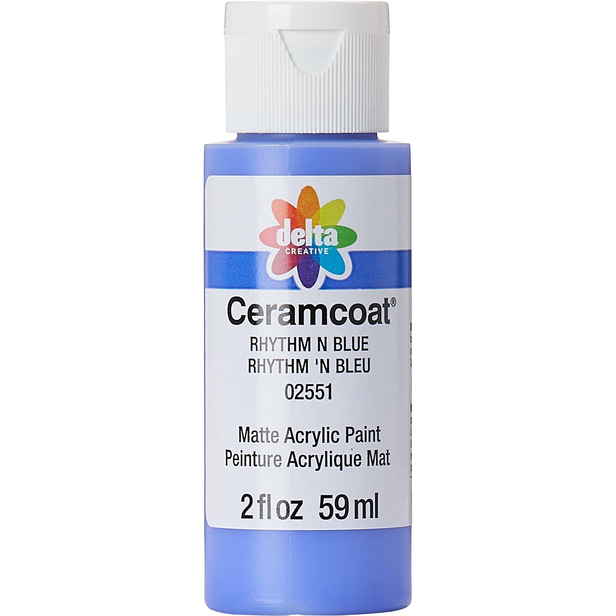 Delta Ceramcoat ® Acrylic Paint - Rhythm N Blue, 2 oz.