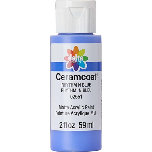 Delta Ceramcoat ® Acrylic Paint - Rhythm N Blue, 2 oz.