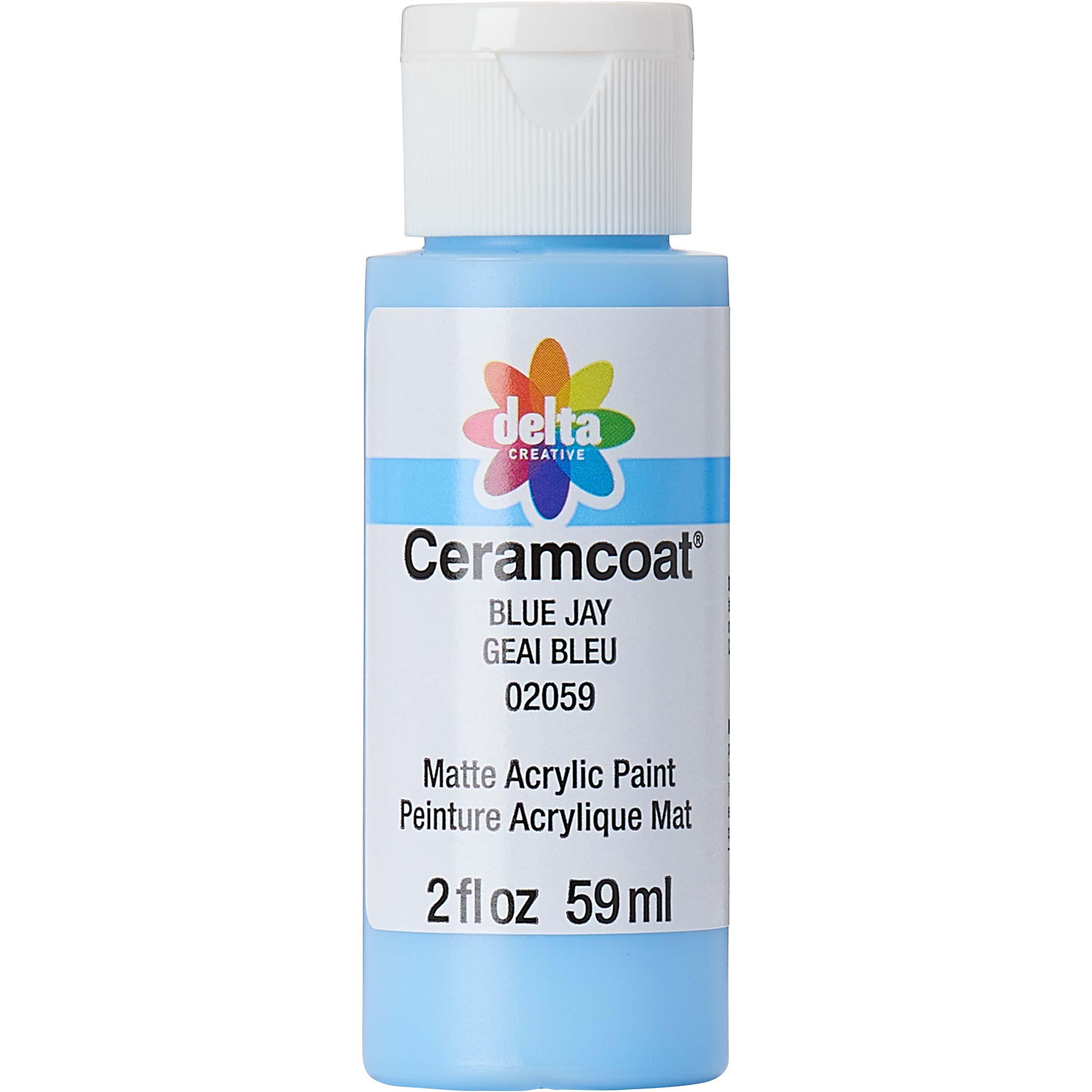 Delta Ceramcoat ® Acrylic Paint - Blue Jay, 2 oz.