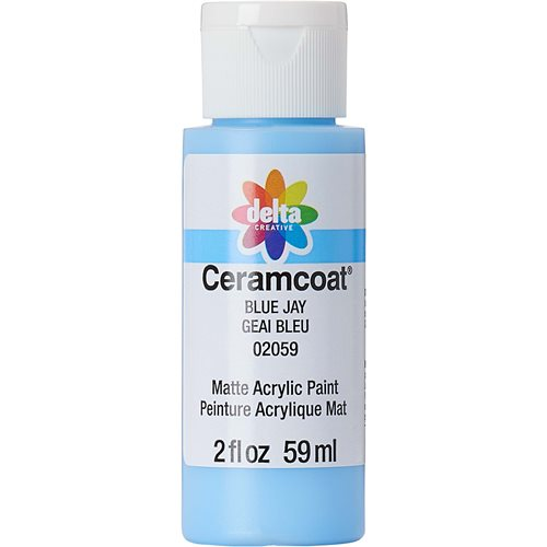 Delta Ceramcoat ® Acrylic Paint - Blue Jay, 2 oz. - 020590202W
