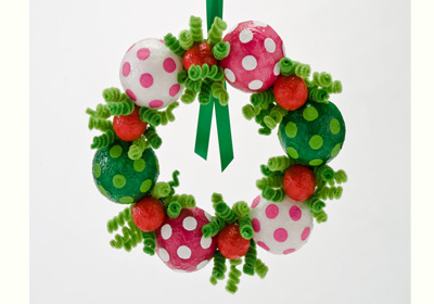Happy Holiday Wreath