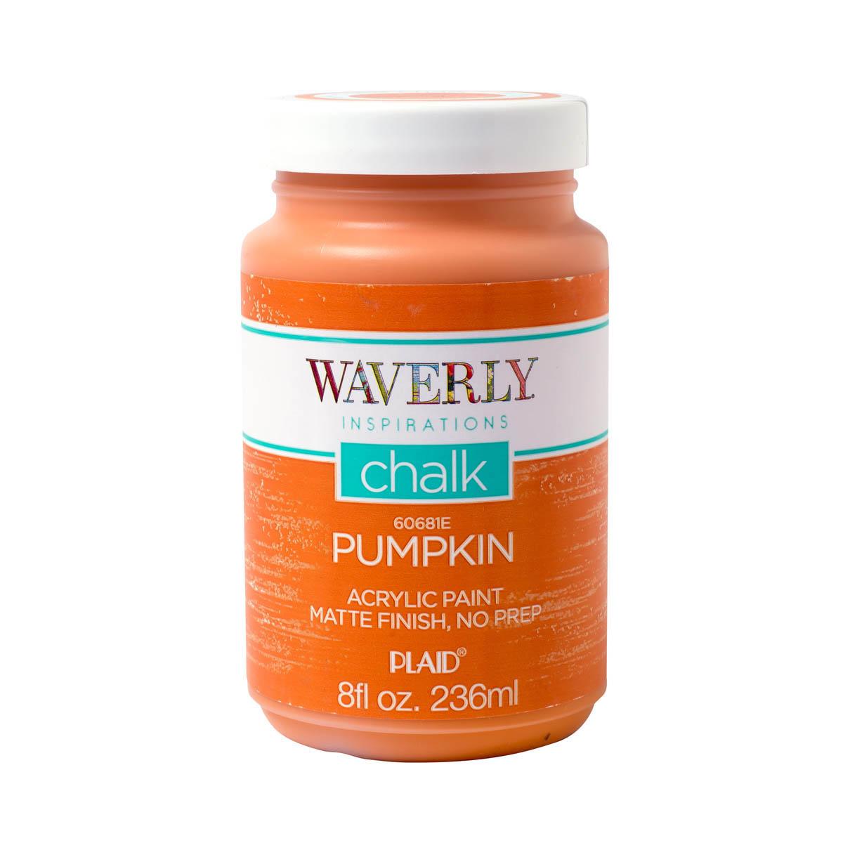 Waverly ® Inspirations Chalk Acrylic Paint - Pumpkin, 8 oz. - 60681E