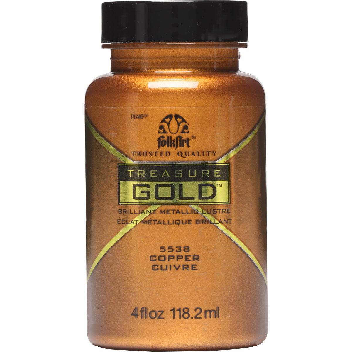 FolkArt ® Treasure Gold™ - Copper, 4 oz.
