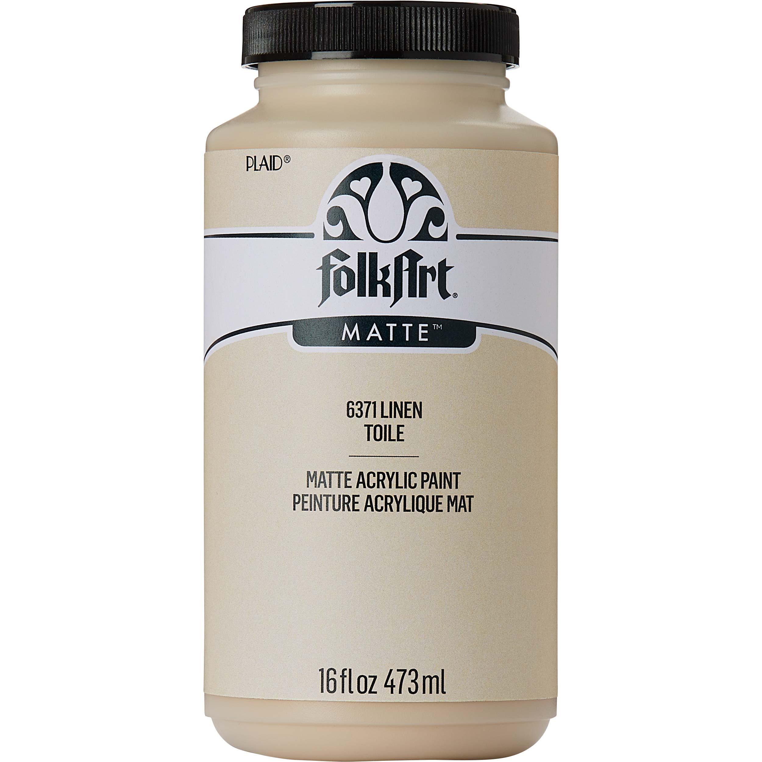 FolkArt ® Acrylic Colors - Linen, 16 oz.
