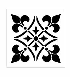 FolkArt ® Home Decor™ Stencils - Regal French