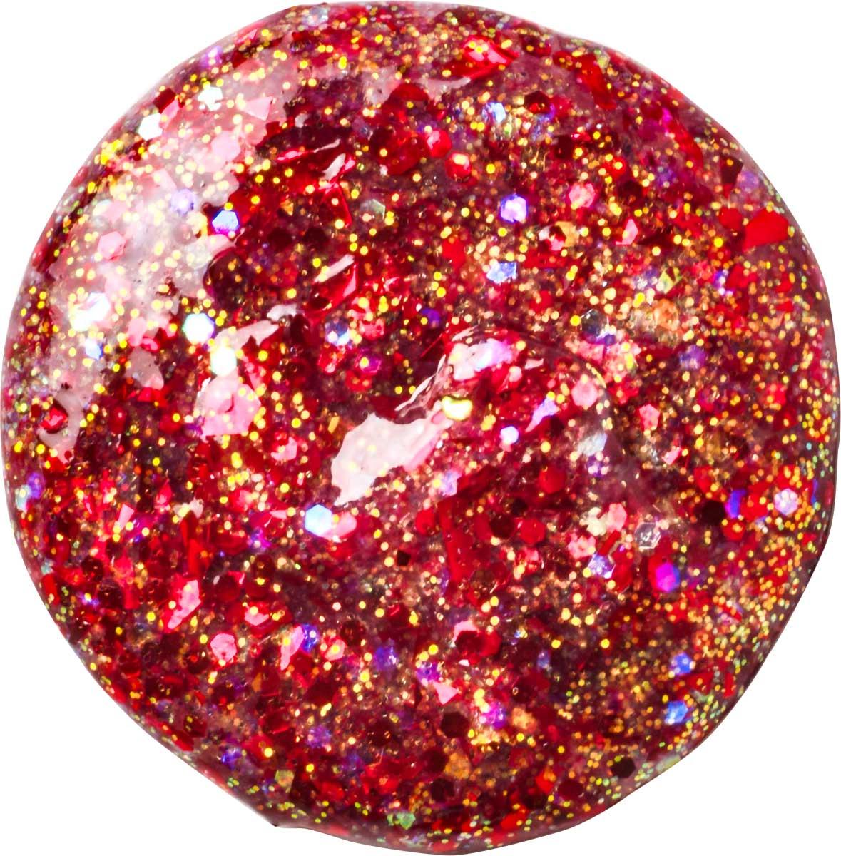 FolkArt ® Glitterific™ Acrylic Paint - Red, 2 oz.