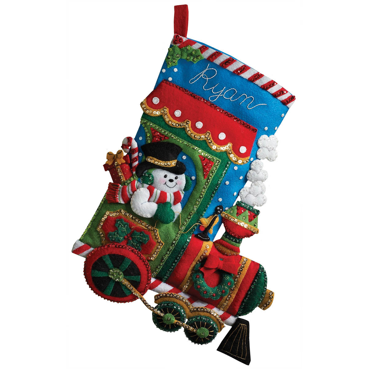 Bucilla ® Seasonal - Felt - Stocking Kits - Christmas Candy Express - 86147