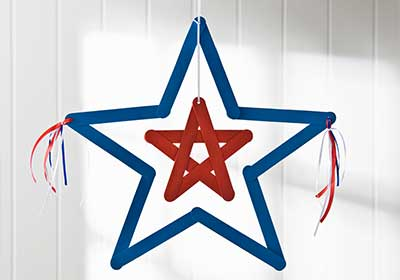 Large Hanging Star