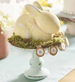 Woodland Bunny Baby Shower Centerpiece
