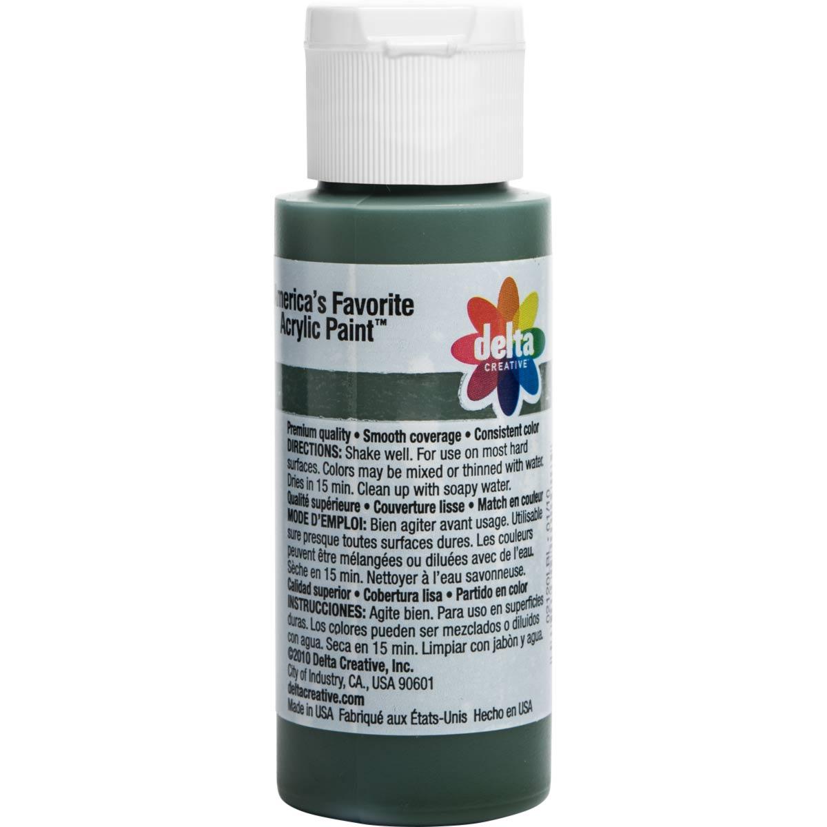 Delta Ceramcoat ® Acrylic Paint - Gamal Green, 2 oz.
