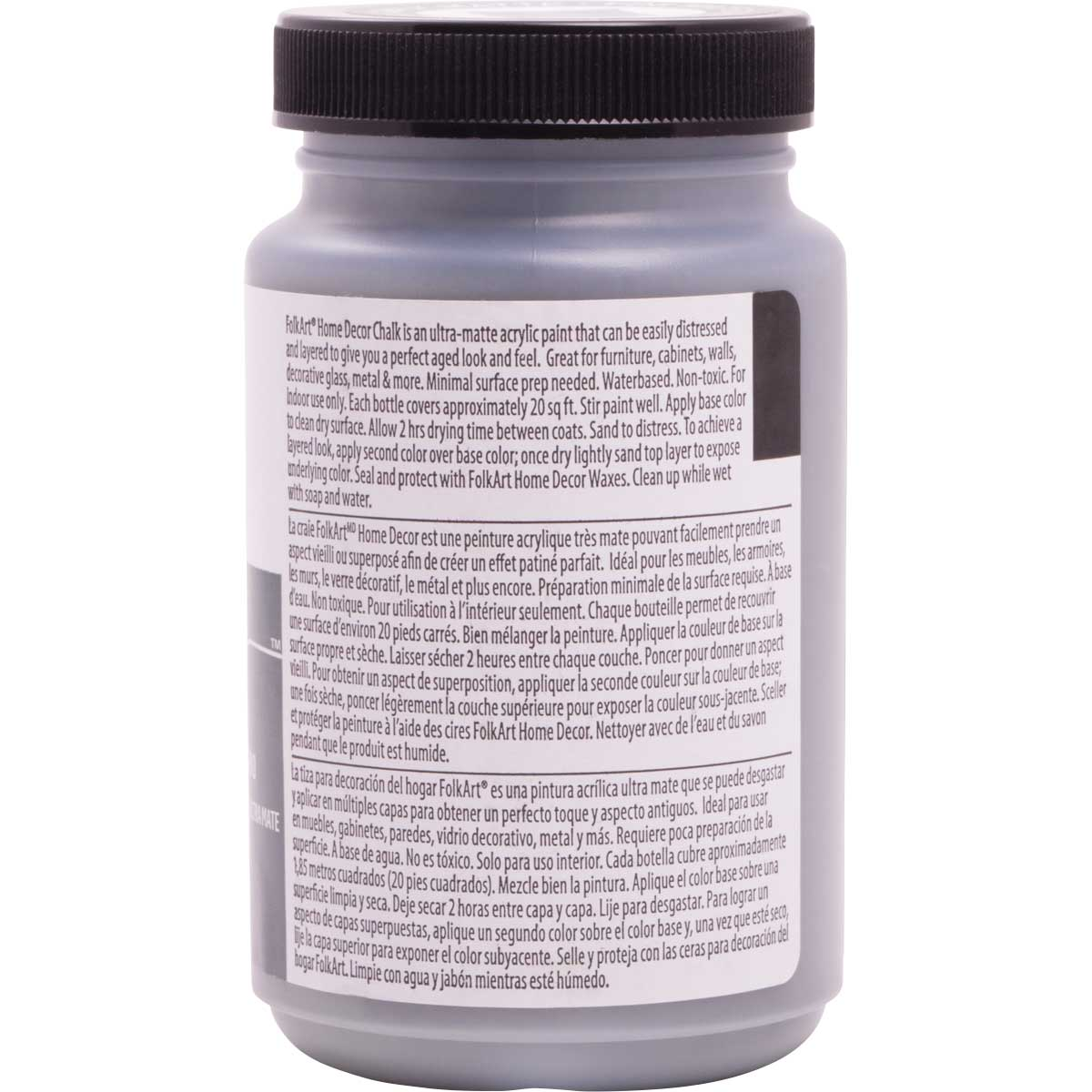 FolkArt ® Home Decor™  Chalk - Seriously Gray, 8 oz.