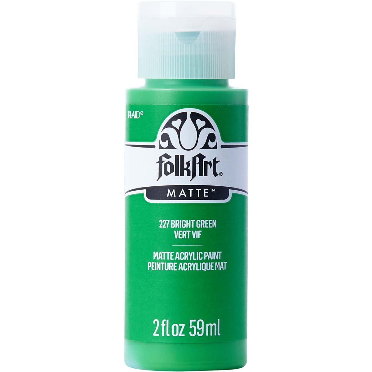 FolkArt ® Acrylic Colors - Bright Green, 2 oz. - 227