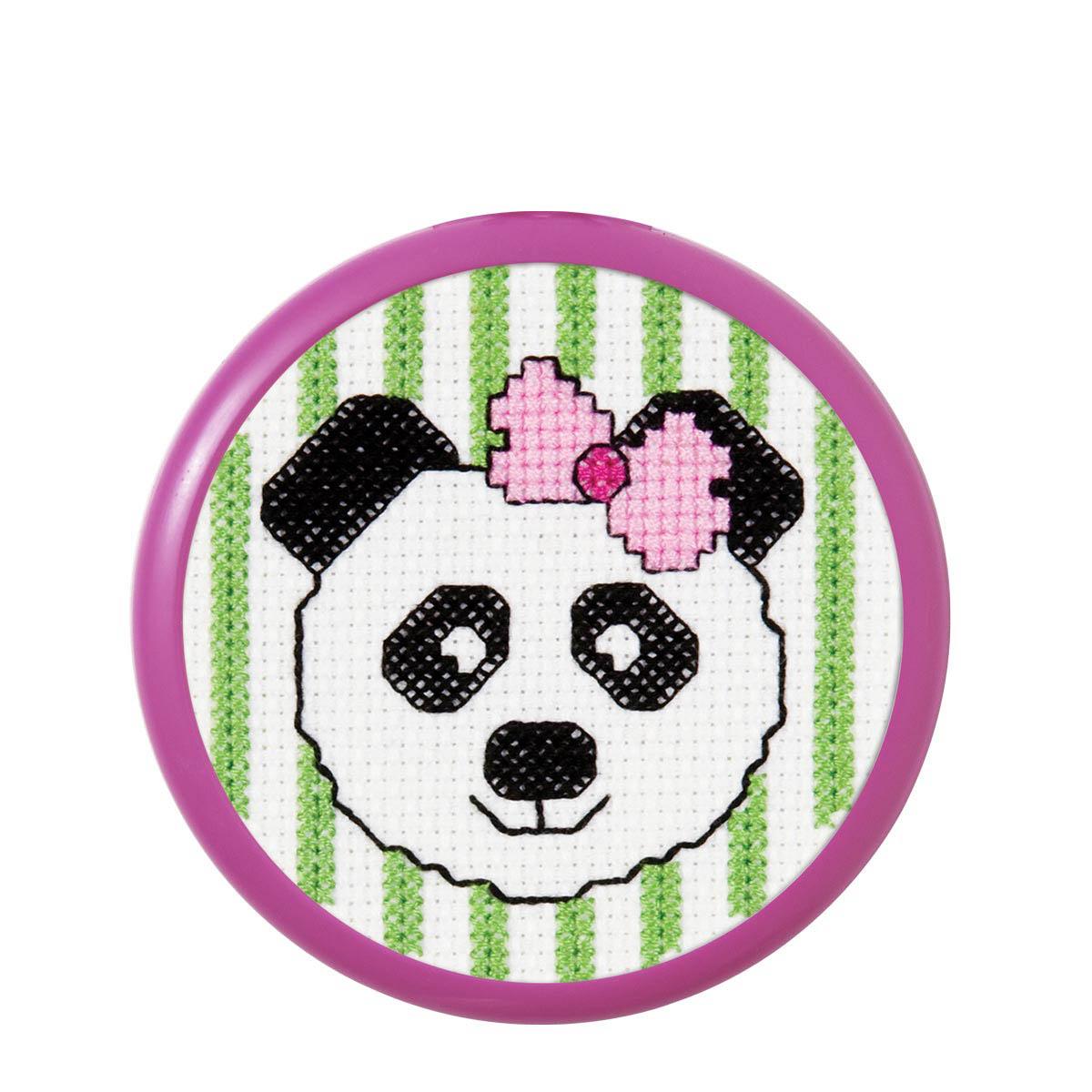 Bucilla ® My 1st Stitch™ - Counted Cross Stitch Kits - Mini - Panda