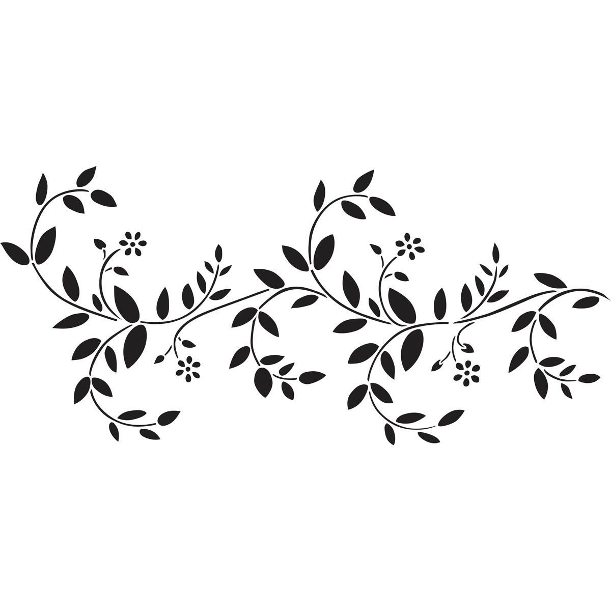 Delta Stencils - Delicate Vine Border