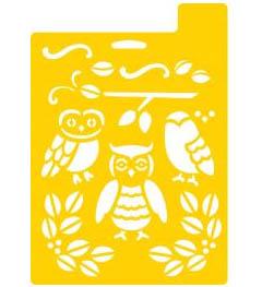 Delta Stencil Mania™ - Owls, 7