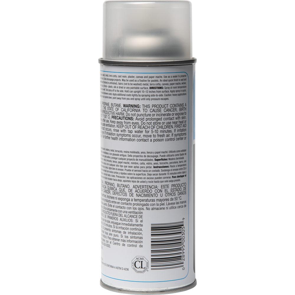 Plaid ® Patricia Nimocks Clear Acrylic Sealer - Gloss, 12 oz. - CS200305