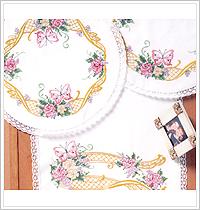 Bucilla ® Special Edition - Stamped Cross Stitch - Home Coordinates - Garden Trellis