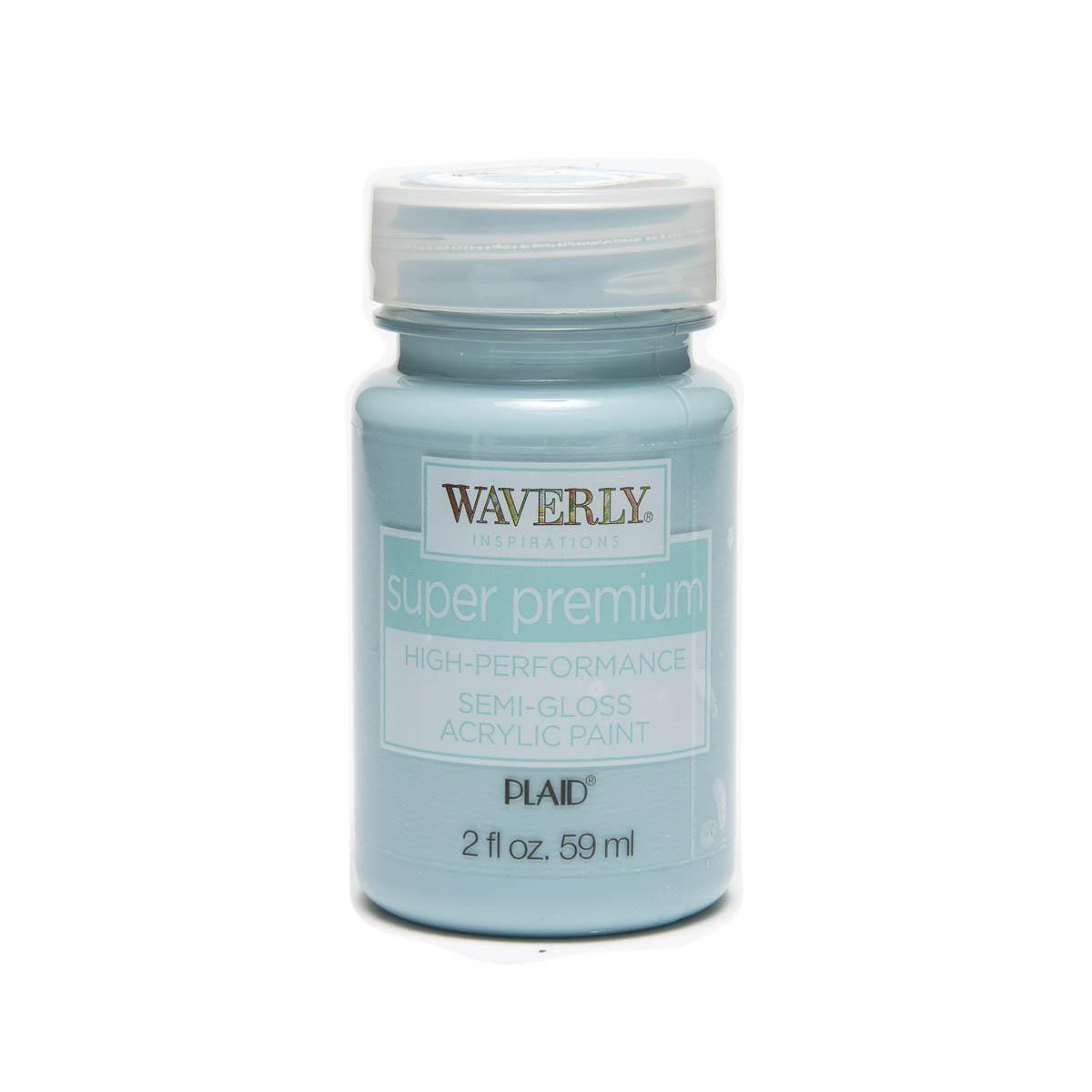 Waverly ® Inspirations Super Premium Semi-Gloss Acrylic Paint - Pool, 2 oz. - 60635E