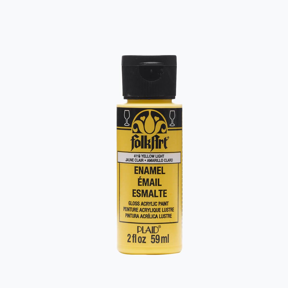 FolkArt ® Enamels™ - Yellow Citron, 2 oz.