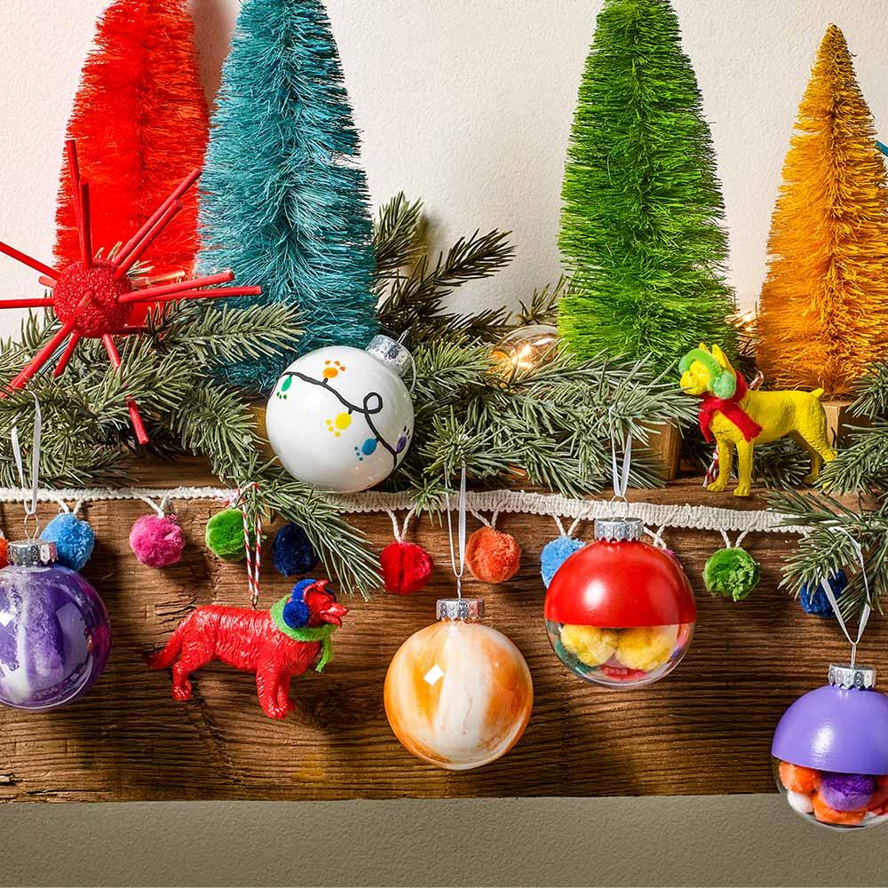 Colorful Ornament Set DIY